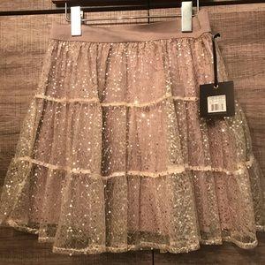 Jack by BB Dakota Tulle Sparkle Skirt